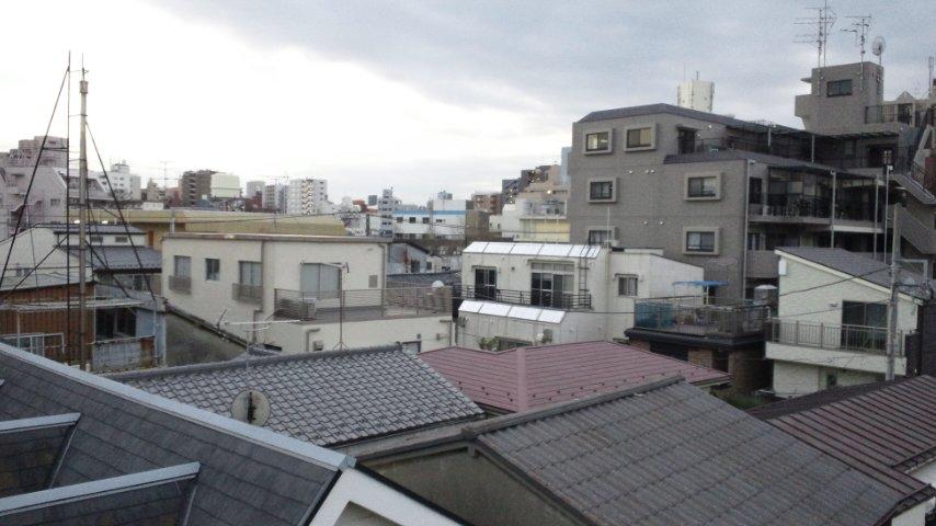 東京の、とある風景