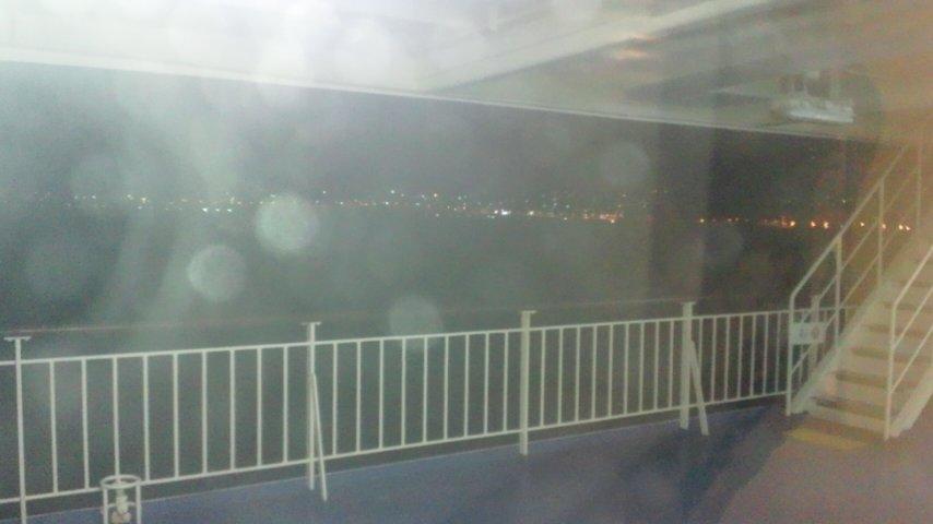 小樽港入港中