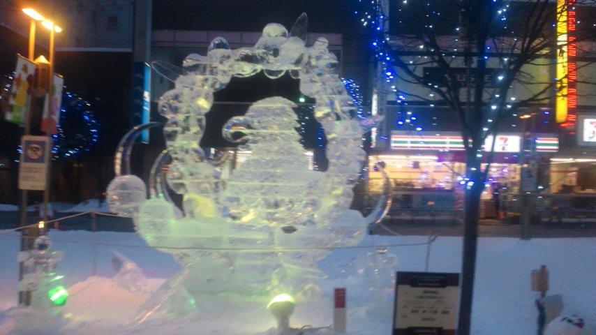 旭川冬まつり氷彫刻世界大会