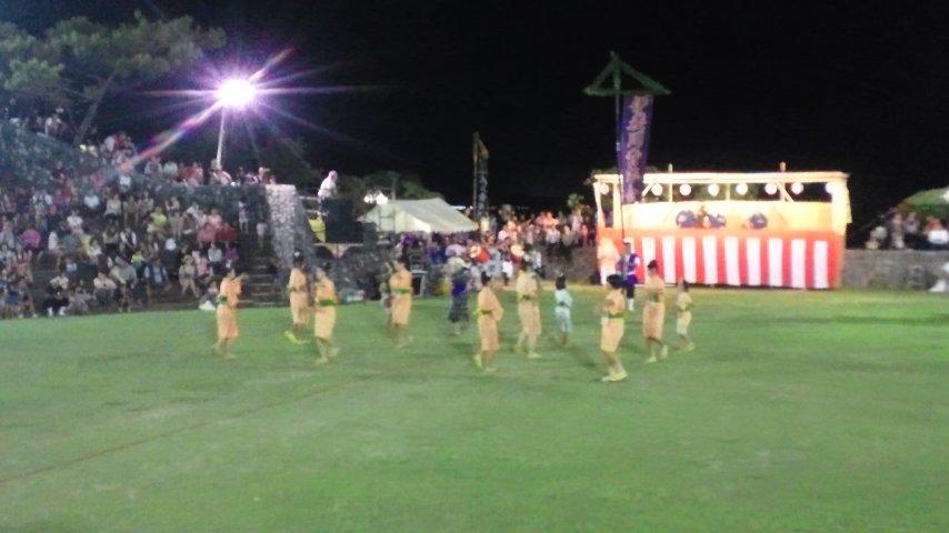伊差川青年会の演舞