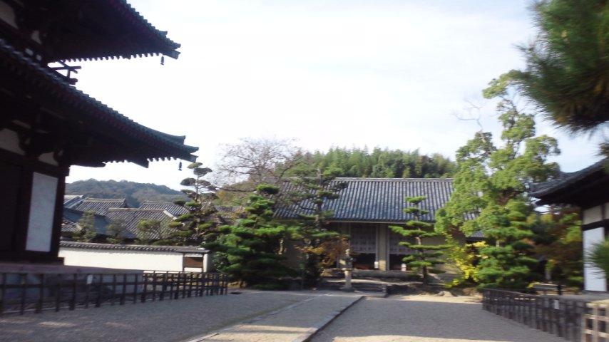 法輪寺と法起寺